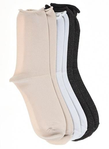 Only Çorap Beyaz